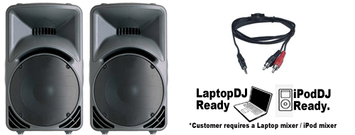 DJ Laptop ipod Disco